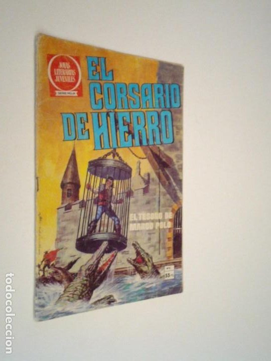 EL CORSARIO DE HIERRO - SERIE ROJA - NUMERO 6 - EDITORIAL BRUGUERA - GORBAUD (Tebeos y Comics - Bruguera - Corsario de Hierro)