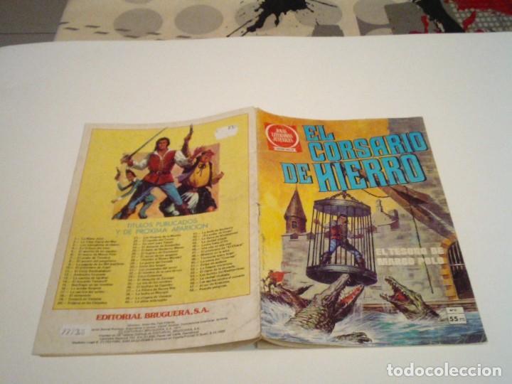 Tebeos: EL CORSARIO DE HIERRO - SERIE ROJA - NUMERO 6 - EDITORIAL BRUGUERA - GORBAUD - Foto 2 - 239670885