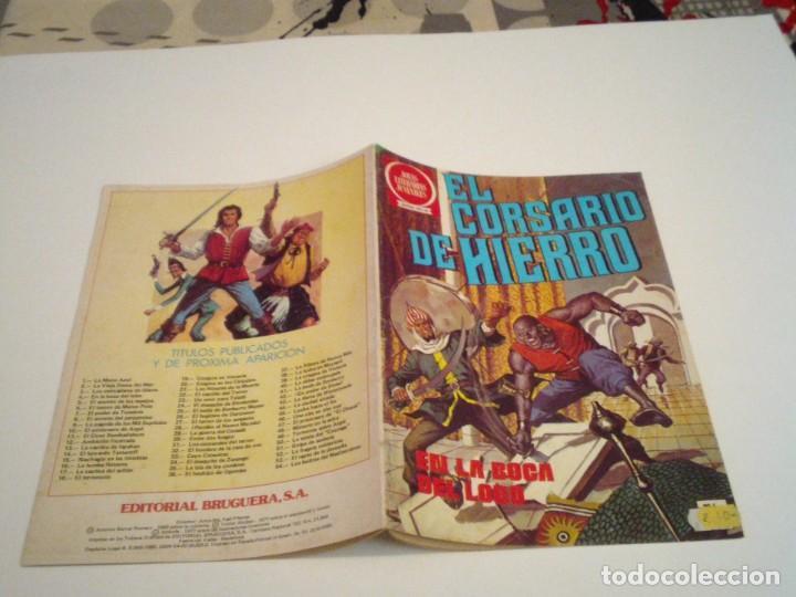 Tebeos: EL CORSARIO DE HIERRO - SERIE ROJA - NUMERO 4 - EDITORIAL BRUGUERA - BUEN ESTADO - GORBAUD - Foto 2 - 239671130
