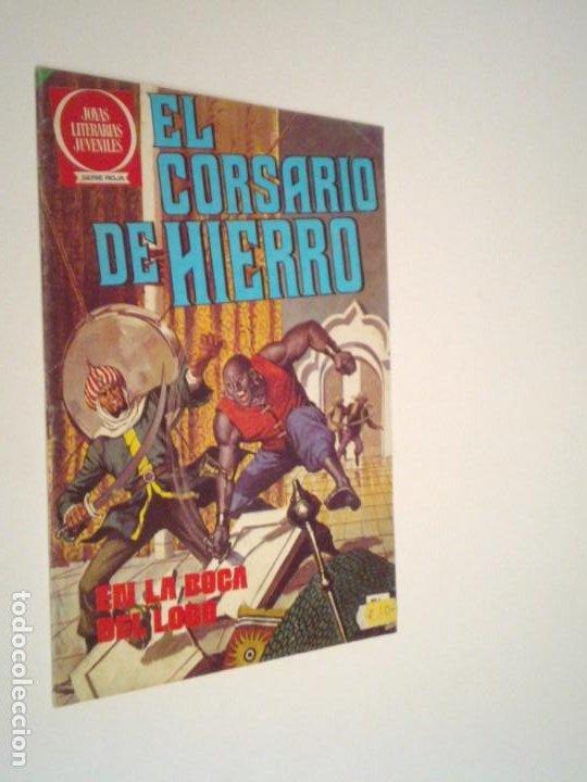 EL CORSARIO DE HIERRO - SERIE ROJA - NUMERO 4 - EDITORIAL BRUGUERA - BUEN ESTADO - GORBAUD (Tebeos y Comics - Bruguera - Corsario de Hierro)