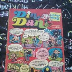 Livros de Banda Desenhada: BRUGUERA - DIN DAN REVISTA JUVENIL NUM. 376 ( 10 PTS.) .. Lote 239766065