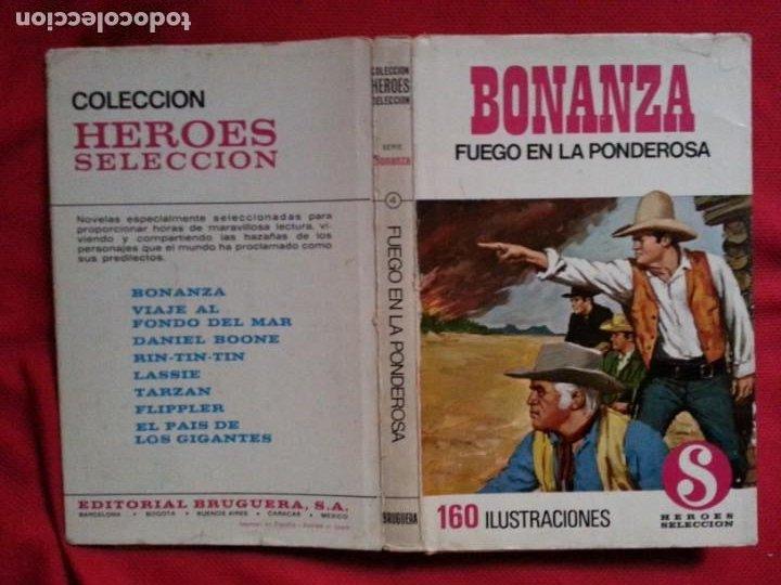 FUEGO EN LA PONDEROSA - BONANZA 4 (Tebeos y Comics - Bruguera - Historias Selección)
