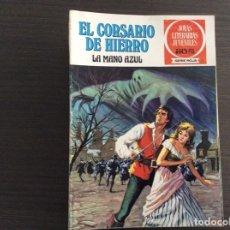 Tebeos: EL CORSARIO DE HIERRO JOYAS LITERERARIAS JUVENILES SERIE ROJA COMPLETA. Lote 239775300