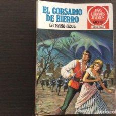 Tebeos: EL CORSARIO DE HIERRO JOYAS LITERERARIAS JUVENILES SERIE ROJA COMPLETA. Lote 239790360