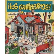 Tebeos: LOS GAMBERROS EXTRA DDT-. Lote 239963070