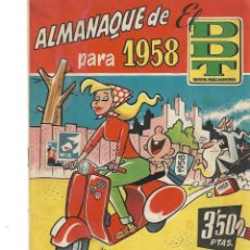 Tebeos: DDT-ALMANAQUE PARA 1958-. Lote 239963960