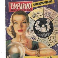 Tebeos: TIOVIVO-EXTRAORDINARIO DEDICADO A LA RUEDA DE LA FORTUNA. Lote 239964970