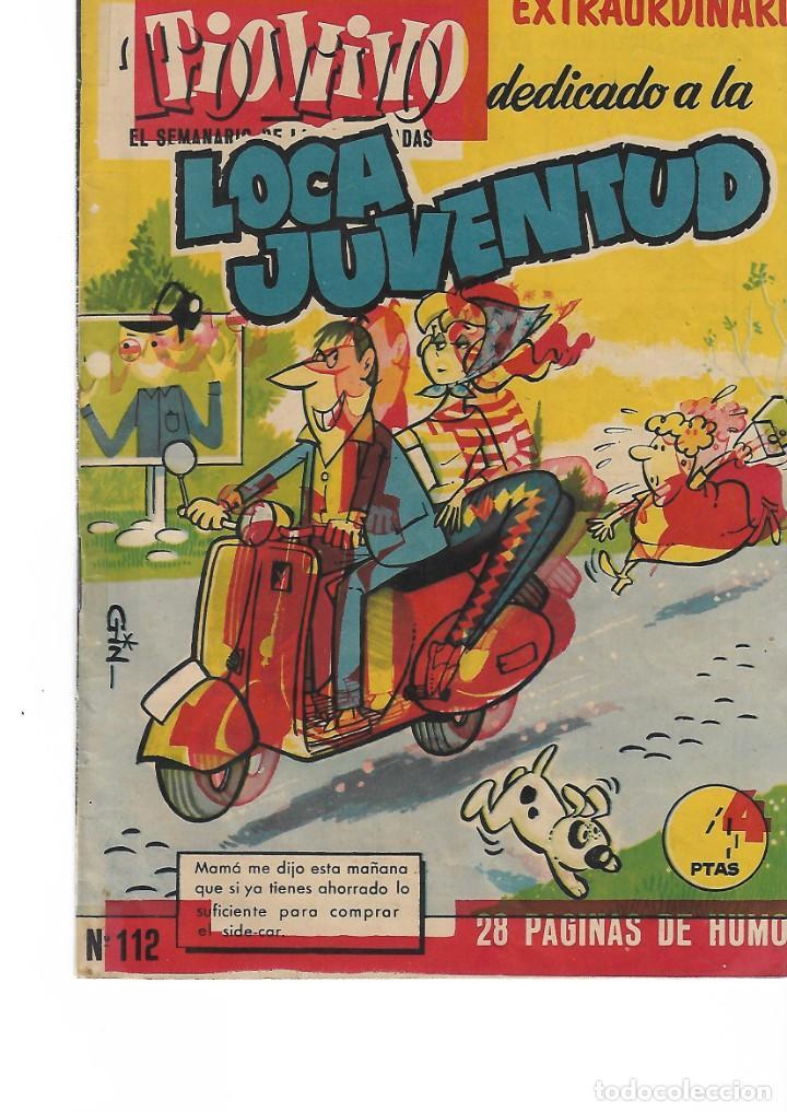 TIO VIVO-EXTRAORDINARIO DEDICADO A LA LOCA JUVENTUD (Tebeos y Comics - Bruguera - Tio Vivo)