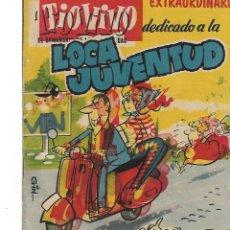 Tebeos: TIO VIVO-EXTRAORDINARIO DEDICADO A LA LOCA JUVENTUD. Lote 239965235