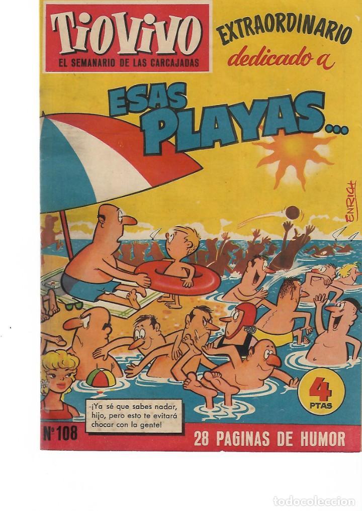 TIO VIVO -EXTRA DEDICADO A ESAS PLAYAS- (Tebeos y Comics - Bruguera - Tio Vivo)