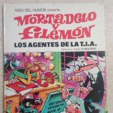 Livros de Banda Desenhada: ASES DEL HUMOR Nº 16 - MORTADELO Y FILEMON: LOS AGENTES DE LA T.I.A.. Lote 239980145