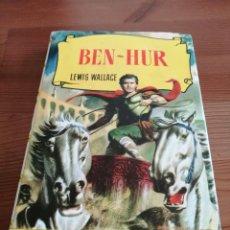 Tebeos: COLECCION HISTORIAS BEN-HUR, LEWIS WALLACE. BRUGUERA (1958). Lote 240005690