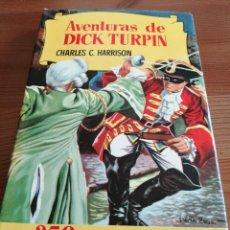 Tebeos: AVENTURAS DE DICK TURPIN, BRUGUERA (1958) 2ªED. COLECCIÓN HISTORIAS Nº 31. Lote 240006410