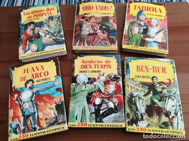 LOTE DE 6 LIBROS DE COLECCIÓN HISTORIA. EDITORIAL BRUGUERA. (Tebeos y Comics - Bruguera - Historias Selección)