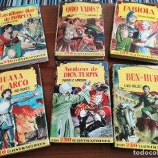 Tebeos: LOTE DE 6 LIBROS DE COLECCIÓN HISTORIA. EDITORIAL BRUGUERA.. Lote 240011790