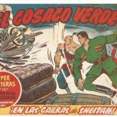 Tebeos: EL COSACO VERDE Nº 16 TEBEO ORIGINAL EDITORIAL BRUGUERA ED 1960. Lote 240162270