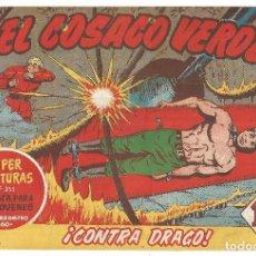 Tebeos: EL COSACO VERDE Nº 24 TEBEO ORIGINAL EDITORIAL BRUGUERA ED 1960. Lote 240165665