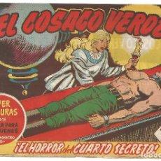 Tebeos: EL COSACO VERDE Nº 23 TEBEO ORIGINAL EDITORIAL BRUGUERA ED 1960. Lote 240165855