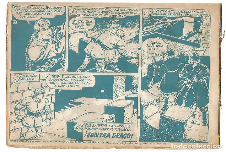 Tebeos: EL COSACO VERDE Nº 23 TEBEO ORIGINAL EDITORIAL BRUGUERA Ed 1960 - Foto 2 - 240165855