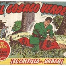 Tebeos: EL COSACO VERDE Nº 22 TEBEO ORIGINAL EDITORIAL BRUGUERA ED 1960. Lote 240166030