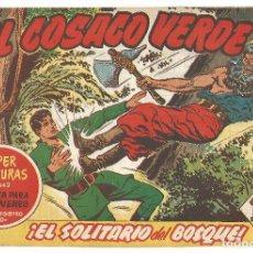 Tebeos: EL COSACO VERDE Nº 21 TEBEO ORIGINAL EDITORIAL BRUGUERA ED 1960. Lote 240166180