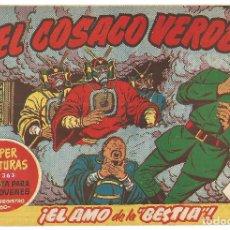 Tebeos: EL COSACO VERDE Nº 28 TEBEO ORIGINAL EDITORIAL BRUGUERA ED 1960. Lote 240286595