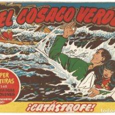 Tebeos: EL COSACO VERDE Nº 27 TEBEO ORIGINAL EDITORIAL BRUGUERA ED 1960. Lote 240286870