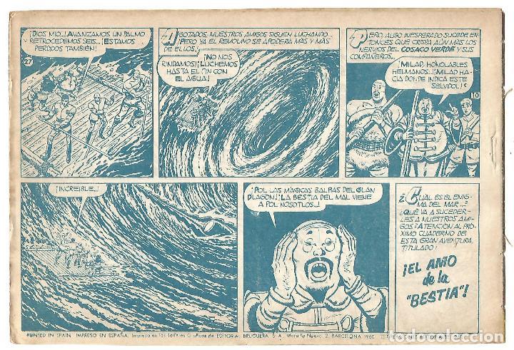 Tebeos: EL COSACO VERDE Nº 27 TEBEO ORIGINAL EDITORIAL BRUGUERA Ed 1960 - Foto 2 - 240286870