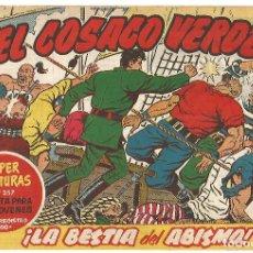 Tebeos: EL COSACO VERDE Nº 26 TEBEO ORIGINAL EDITORIAL BRUGUERA ED 1960. Lote 240287150