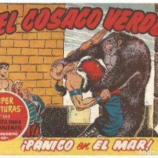 Tebeos: EL COSACO VERDE Nº 25 TEBEO ORIGINAL EDITORIAL BRUGUERA ED 1960. Lote 240287410