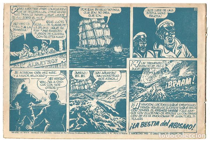 Tebeos: EL COSACO VERDE Nº 25 TEBEO ORIGINAL EDITORIAL BRUGUERA Ed 1960 - Foto 2 - 240287410