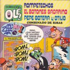 Livros de Banda Desenhada: COMIC COLECCION OLE 1ª EDICION Nº 109. Lote 240381230