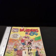 Livros de Banda Desenhada: COLECCIÓN OLÉ MORTADELO Y FILEMÓN LOS ÁNGELES 84 NR 296 BRUGUERA 1.ª EDICIÓN JUNIO 1984. Lote 240410640