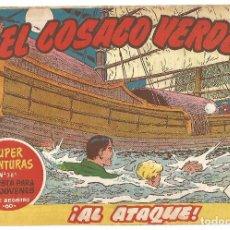 Tebeos: EL COSACO VERDE Nº 34 TEBEO ORIGINAL EDITORIAL BRUGUERA ED 1960. Lote 240448255