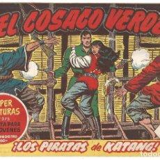 Tebeos: EL COSACO VERDE Nº 32 TEBEO ORIGINAL EDITORIAL BRUGUERA ED 1960. Lote 240448400