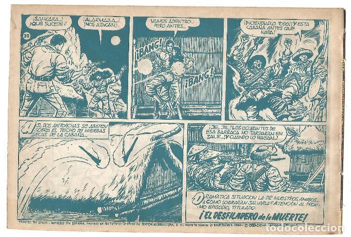 Tebeos: EL COSACO VERDE Nº 32 TEBEO ORIGINAL EDITORIAL BRUGUERA Ed 1960 - Foto 2 - 240448400