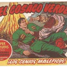 Tebeos: EL COSACO VERDE Nº 31 TEBEO ORIGINAL EDITORIAL BRUGUERA ED 1960. Lote 240448550