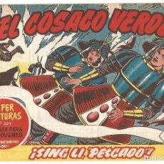 Tebeos: EL COSACO VERDE Nº 30 TEBEO ORIGINAL EDITORIAL BRUGUERA ED 1960. Lote 240448675