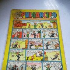 Tebeos: REVISTA PARA LOS JÓVENES PULGARCITO. EDITORIAL BRUGUERA. PULGARCITO. Nº 1558. DOÑA URRACA. Lote 240576890
