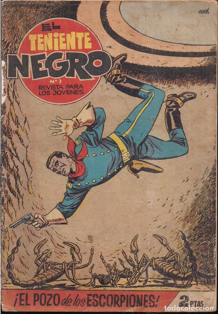 EL TENIENTE NEGRO Nº 3: EL POZO DE LOS ESCORPIONES (Tebeos y Comics - Bruguera - Cuadernillos Varios)