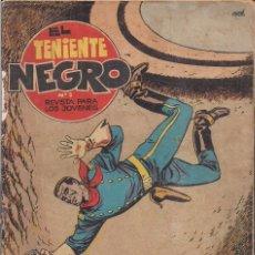 Tebeos: EL TENIENTE NEGRO Nº 3: EL POZO DE LOS ESCORPIONES. Lote 240663490