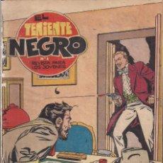 Tebeos: EL TENIENTE NEGRO Nº 8: LOS CIGARROS DE BLAKE. Lote 240664960