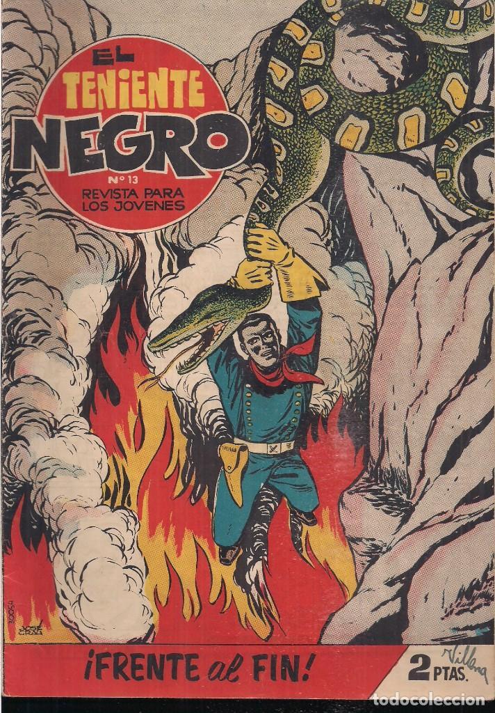 EL TENIENTE NEGRO Nº 13: ¡FRENTE AL FIN! (Tebeos y Comics - Bruguera - Cuadernillos Varios)