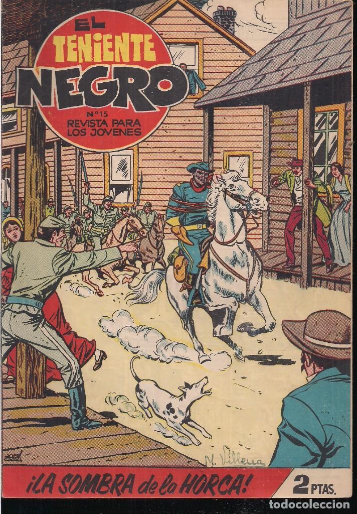 EL TENIENTE NEGRO Nº 15: ¡LA SOMBRA DE LA HORCA! (Tebeos y Comics - Bruguera - Cuadernillos Varios)