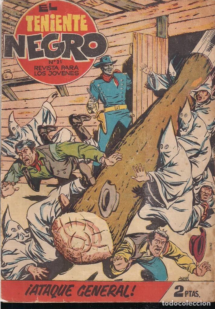 EL TENIENTE NEGRO Nº 21: ¡ATAQUE GENERAL! (Tebeos y Comics - Bruguera - Cuadernillos Varios)