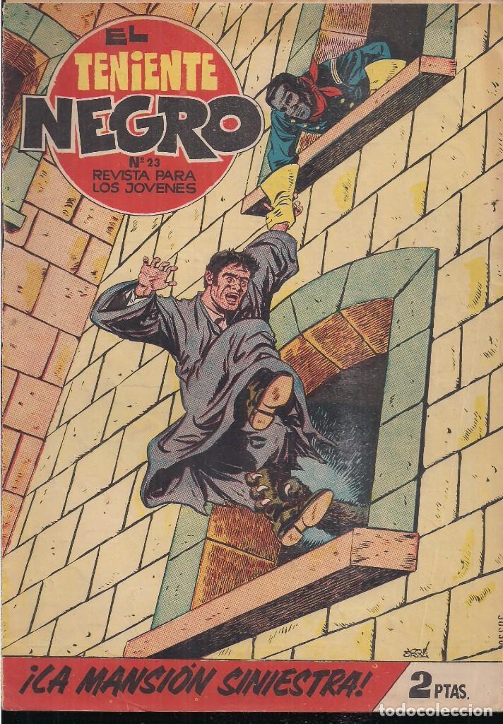 EL TENIENTE NEGRO Nº 23: ¡LA MANSIÓN SINIESTRA! (Tebeos y Comics - Bruguera - Cuadernillos Varios)