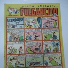 Tebeos: ALBUM INFANTIL PULGARCITO - Nº 124 - ED. BRUGUERA - 1948 (HELIODORO, ZIPI ZAPE, TRIBULETE, PIO. ETC). Lote 240679335