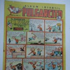 Tebeos: ALBUM INFANTIL PULGARCITO - Nº 123 - ED. BRUGUERA - 1948 (HELIODORO, ZIPI ZAPE, TRIBULETE, PIO. ETC). Lote 240679585