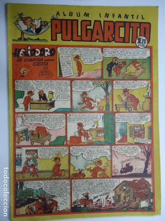 PULGARCITO - ÁLBUM INFANTIL - Nº 144 - EDITORIAL BRUGUERA - ORIGINAL - AÑO 1950. PULGARCITO - ÁLBUM (Tebeos y Comics - Bruguera - Pulgarcito)