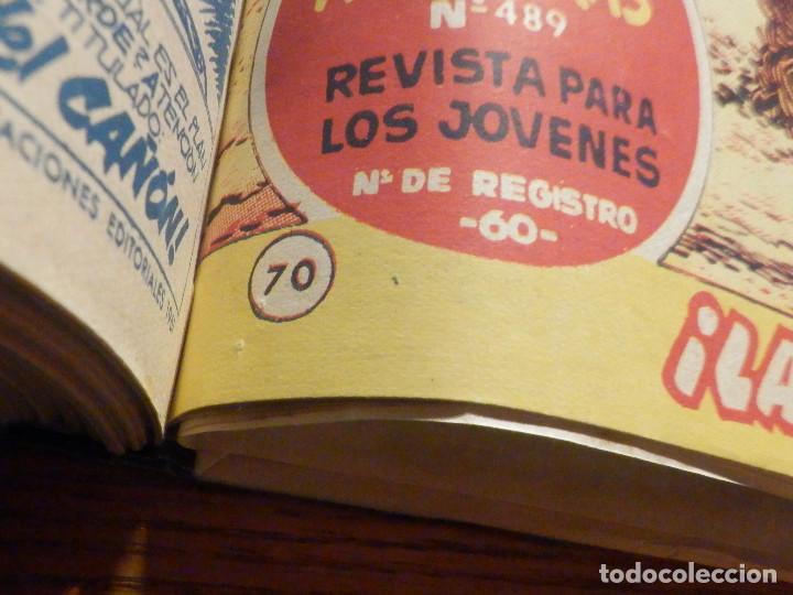 Tebeos: El Cosaco verde - Tomo del nº 1 al 36 + 69 y 70 - Encuadernados - Original - Bruguera - 60´s - Foto 5 - 240744930